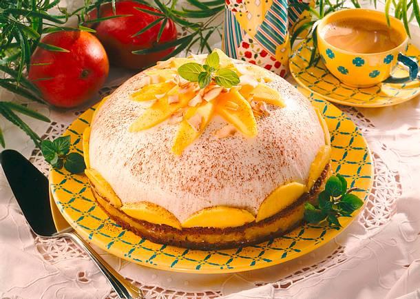 Mango-Kokos-Kuppeltorte Rezept