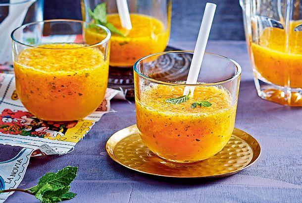 Mango-Lemon-Squash Rezept