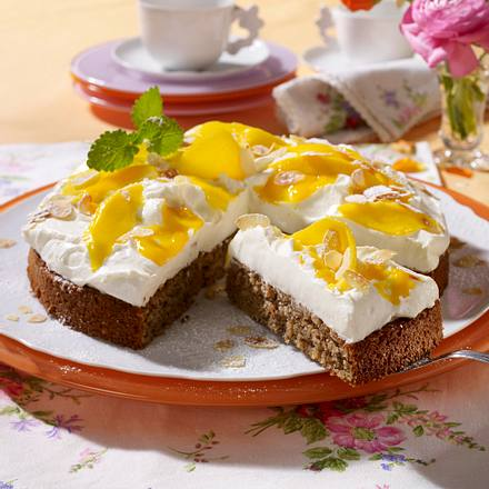 Mango-Mascarpone-Torte Rezept