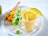 Mango-Minze-Milchshake Rezept