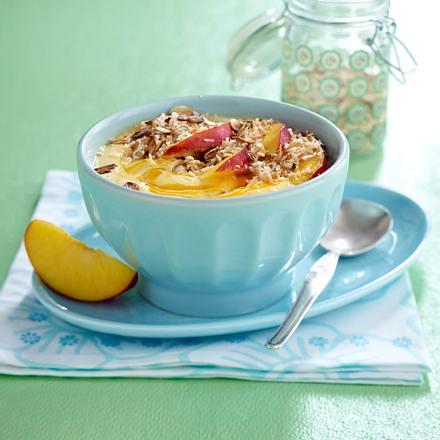 Mango-Nektarinen-Müsli Rezept
