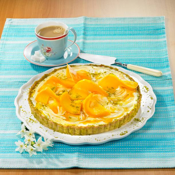 Mango-Panacotta-Kuchen Rezept