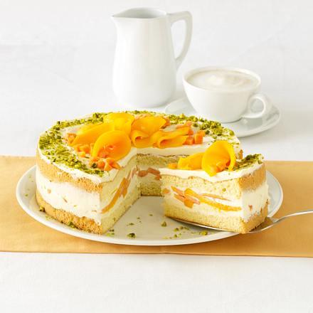 Mango-Papaya-Torte Rezept