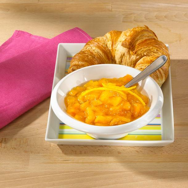 Mango-Pfirsich-Zitronenkonfitüre Rezept