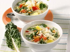 Mangold-Kartoffel-Suppe Rezept