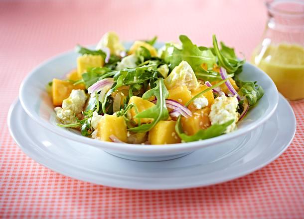 Mangosalat mit Feta Rezept