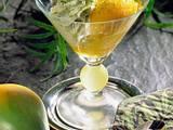 Mangosorbet mit Pistaziensahne Rezept