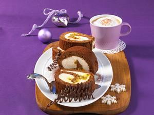 Maracuja-Schokoladenrolle Rezept