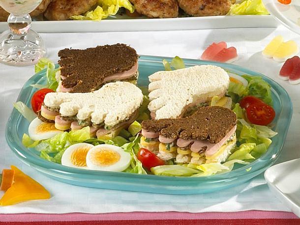 Marathon-Sandwiches Rezept