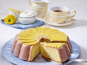Margeriten-Torte mit Marzipan Rezept