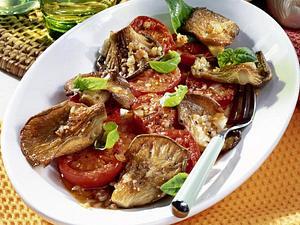 Marinierte Austernpilze & Tomaten Rezept