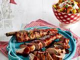 Marinierte Bacon-Filets mit Kartoffelsalat Rezept