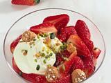 Marinierte Erdbeeren mit Mascarponecreme Rezept