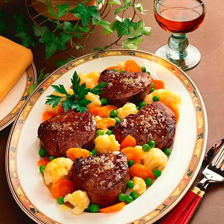 Marinierte Filet-Steaks Rezept