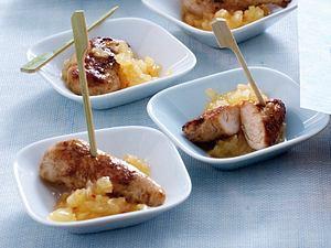 Marinierte Hähncheninnenfilets mit Ananas-Salsa Rezept