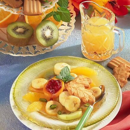 Marinierte Honig-Früchte Rezept
