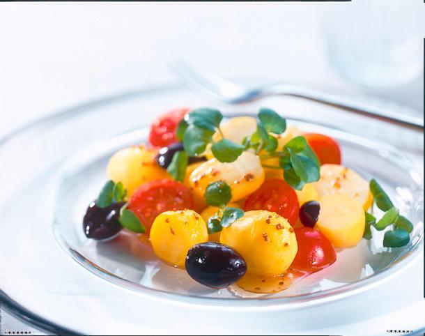 Marinierte Kartoffeln mit Brunnenkresse Rezept
