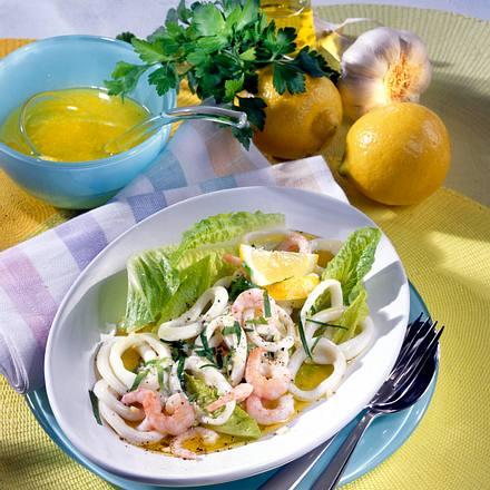 Marinierte Meeresfrüchte Rezept