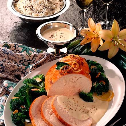 Marinierte Putenbrust mit Broccoligemüse Rezept