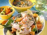 Marinierter Fischtopf mit Gemüse Rezept