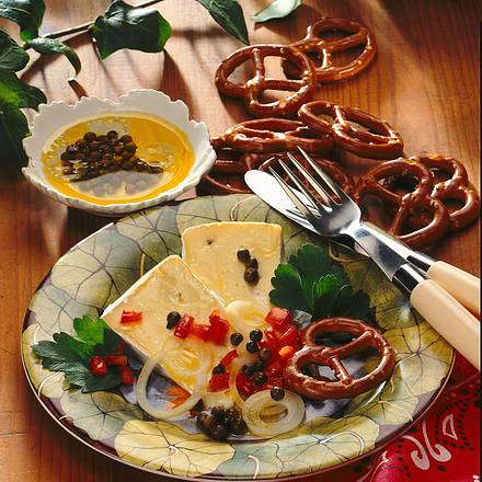 Marinierter Pfeffer-Käse Rezept