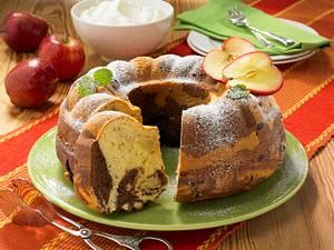 Marmor-Apfel-Kranz Rezept