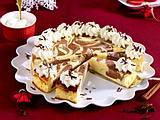 Marmor-Käsekuchen mit Weihnachtsgewürzen Rezept