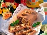 Marmor-Kastenkuchen mit Walnüssen Rezept