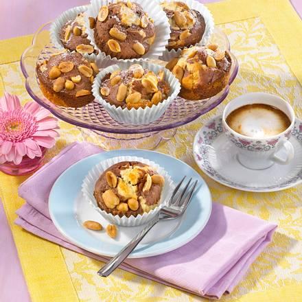 Marmor-Muffins mit Erdnüssen Rezept