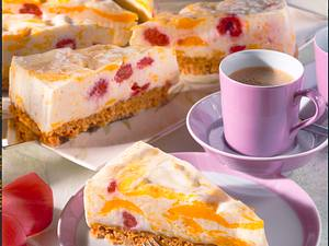 Marmorierte Fruchttorte (Diabetiker) Rezept