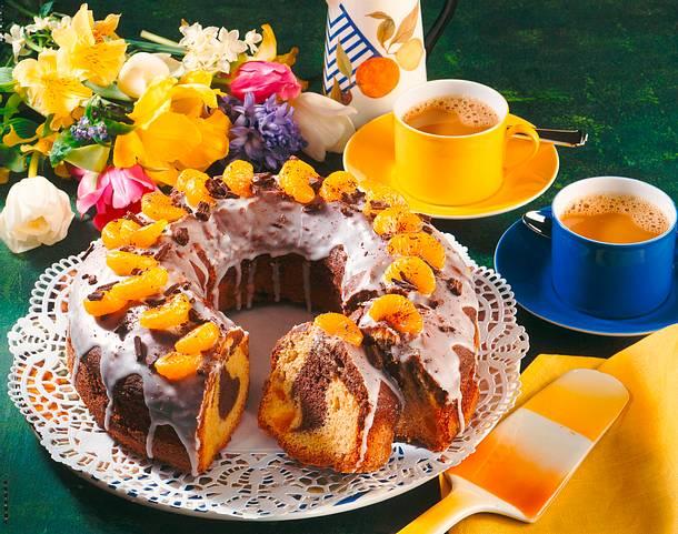 Marmorkuchen mit Mandarinen Rezept