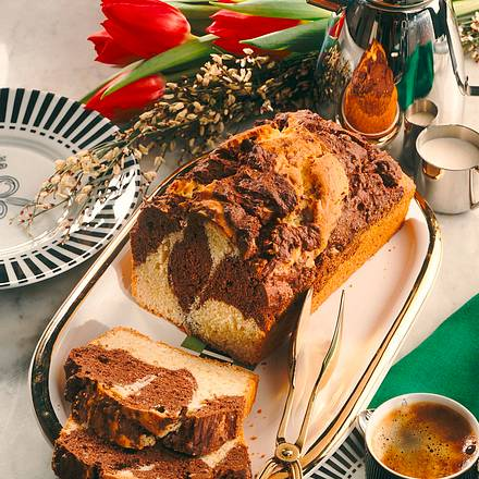 Marmorkuchen mit Mandeln (Diabetiker) Rezept