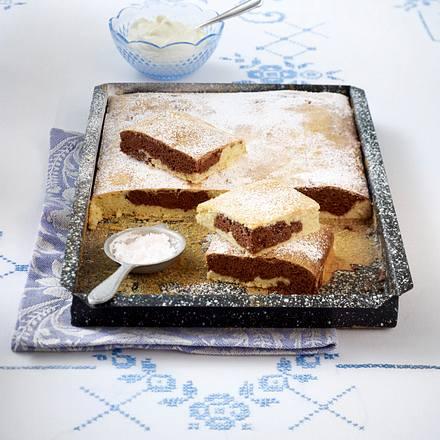 Marmorkuchen Schoko-Banane Rezept