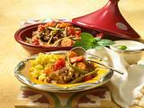 Marokkanische Tajine mit Couscous Rezept