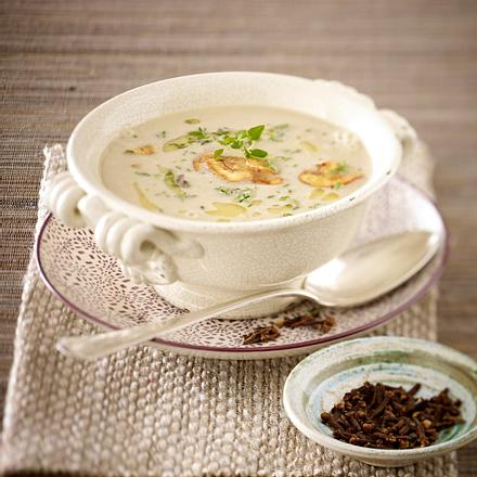 Maronen-Creme-Suppe Rezept