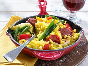 Marsala-Chorizo-Pfanne Rezept