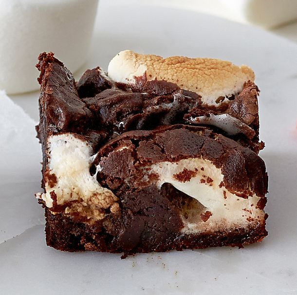 Marshmallow-Brownie Rezept