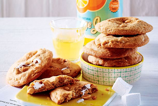 Marshmallow-Erdnuss-Cookies Rezept