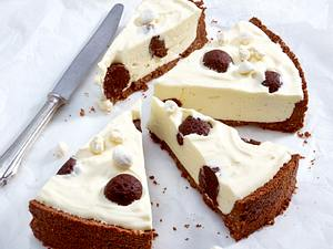 Marshmallow-Pünktchen-Pie Rezept