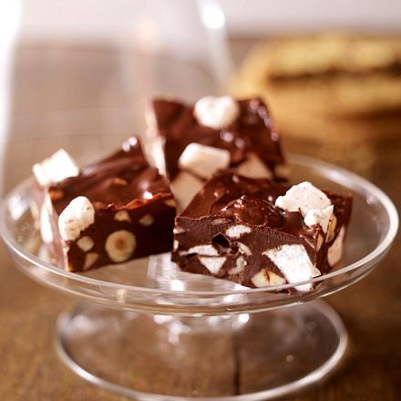Marshmallow-Schoko-Konfekt Rezept