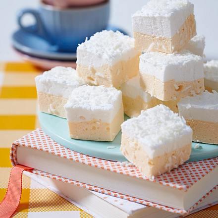 Marshmallow-Würfel gestreift Rezept