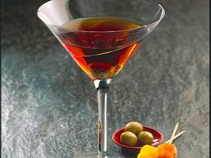Martini-Gin-Drink Rezept