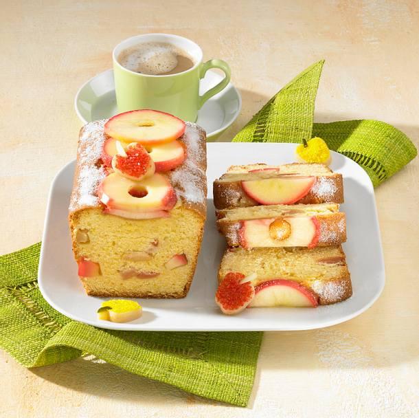 Marzipan-Apfel-Kuchen Rezept