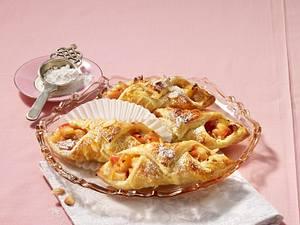 Marzipan-Apfeltaschen Rezept