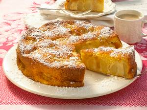 Marzipan-Bratapfelkuchen Rezept
