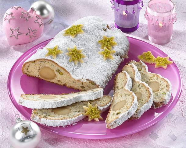 Marzipan-Butter-Stollen Rezept
