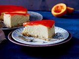 Marzipan-Cheesecake mit Orangenguss Rezept