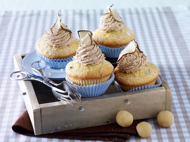Marzipan-Cupcakes Rezept