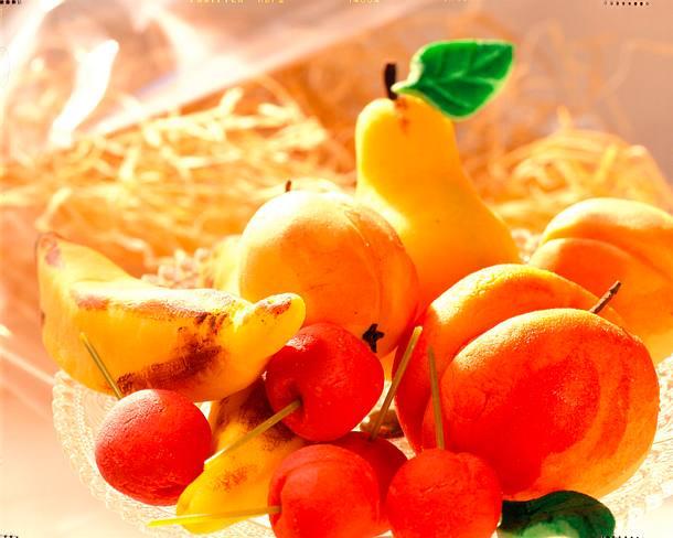 Marzipan-Früchte Rezept