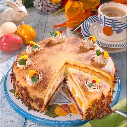 Marzipan-Mango-Torte Rezept